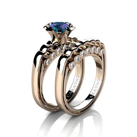 Caravaggio-Classic-14K-Rose-Gold-1-0-Carat-Alexandrite-Diamond-Engagement-Ring-Wedding-Band-Set-R637S-14KRGDAL-P