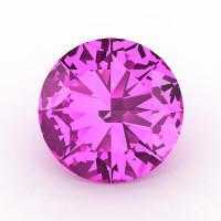 Art Masters Gems Calibrated 5.0 Ct Round Light Pink Sapphire Created Gemstone RCG0500-LPS