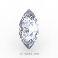 Art Masters Gems Standard 0.5 Ct Marquise White Sapphire Created Gemstone MCG0050-WS