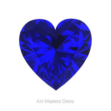 Art-Masters-Gems-Standard-1-0-0-Carat-Heart-Cut-Blue-Sapphire-Created-Gemstone-HCG100-BS-T
