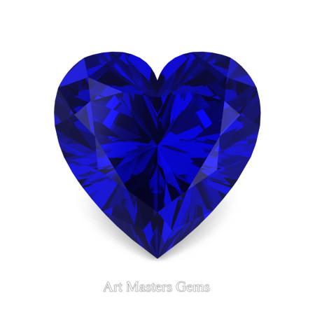 Art-Masters-Gems-Standard-1-5-0-Carat-Heart-Cut-Blue-Sapphire-Created-Gemstone-HCG150-BS-T