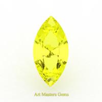 Art Masters Gems Standard 1.5 Ct Marquise Yellow Sapphire Created Gemstone MCG150-YS