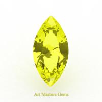 Art Masters Gems Standard 2.0 Ct Marquise Yellow Sapphire Created Gemstone MCG200-YS