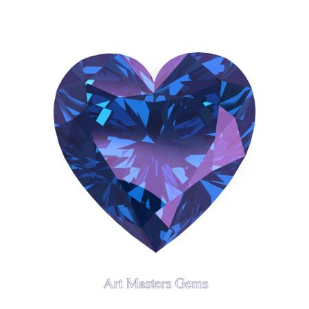 Art-Masters-Gems-Standard-2-5-0-Carat-Heart-Cut-Alexandrite-Created-Gemstone-HCG250-AL-T