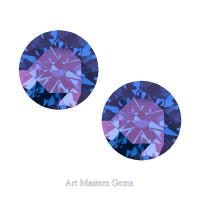 Art Masters Gems Set of Two Standard 2.0 Ct Alexandrite Gemstones RCG200S-AL