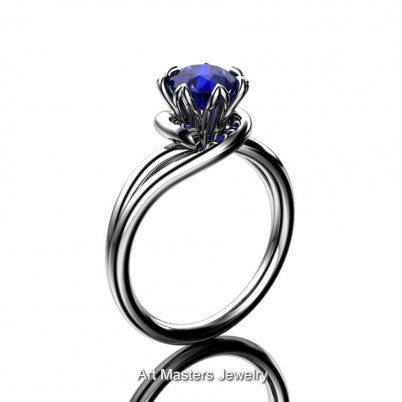 Classic-14K-White-Gold-1-CT-Blue-Sapphire-Solitaire-Engagement-Ring-R559-14KWGBS-P1-402×402