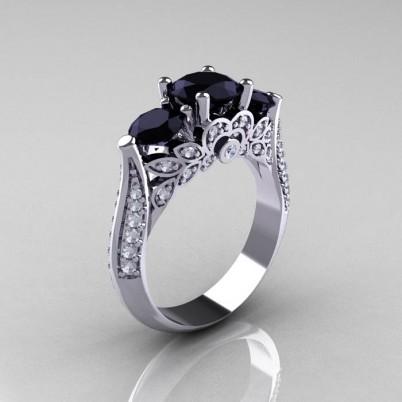 Classic-Three-Stone-Black-Diamond-Engagement-Ring-R200-WGDBD-P-402×402
