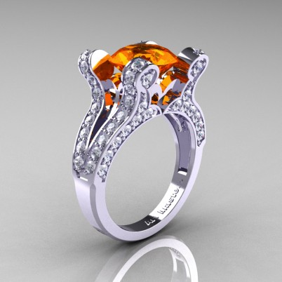 French-Vintage-White-Gold-3-0-Carat-Orange-Sapphire-Diamond-Pisces-Weddinng-Ring-Engagement-Ring-R228-WGDOS-P-402×402
