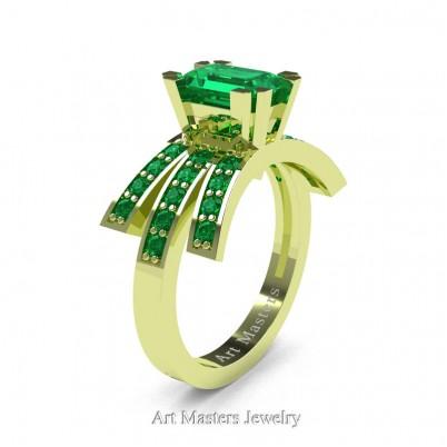Modern-Victorian-14K-Green-Gold-1-Ct-Emerald-Cut-Emerald-Engagement-Ring-R344-14KGGEM-P-402×402