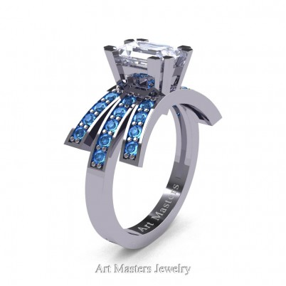Modern-Victorian-14K-White-Gold-1-Ct-Emerald-Cut-Russian-Ice-CZ-Blue-Topaz-Engagement-Ring-R344-14KWGBTRICZ-P-402×402