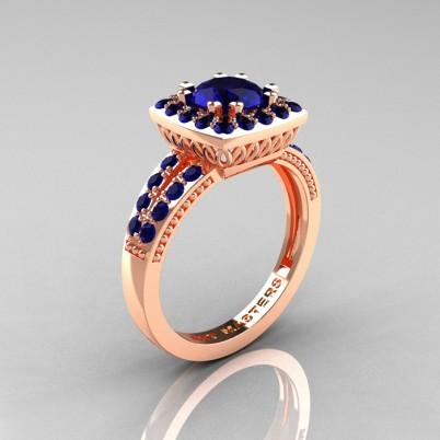 Renaissance-Classic-Rose-Gold-1-0-Carat-Round-Blue-Sapphire-Engagement-Ring-R220-RGBS-P-402×402