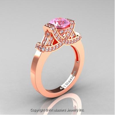 Classc-Armenian-14K-Rose-Gold-1-0-Ct-Light-Pink-Sapphire-Diamond-Engagement-Ring-Wedding-Ring-R283-14KRGDLPS-P-402×402