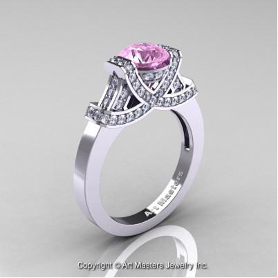 Classc-Armenian-14K-White-Gold-1-0-Ct-Light-Pink-Sapphire-Diamond-Engagement-Ring-Wedding-Ring-R283-14KWGDLPS-P-402×402