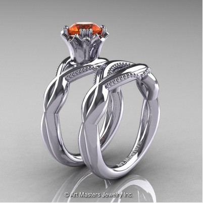 Faegheh-Modern-Classic-14K-White-Gold-1-0-Ct-Orange-Sapphire-Engagement-Ring-Wedding-Band-Bridal-Set-R290S-14KWGOS-P-402×402