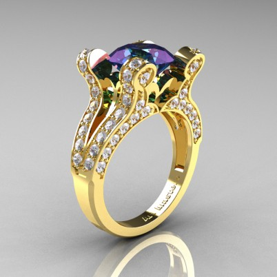 French-Vintage-Yellow-Gold-3-0-Carat-Alexandrite-Diamond-Pisces-Weddinng-Ring-Engagement-Ring-R228-YGDAL-P-402×402