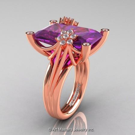 Modern-Bridal-14K-Rose-Gold-Amethyst-Diamond-Fantasy-Cocktail-Ring-R292-14KRGDAM-P-700×700
