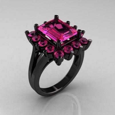 Modern-Victorian-Black-Gold-4-Carat-Pink-Sapphire-Engagement-Ring-R217-BGPS-P-402×402