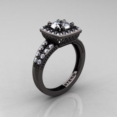 Renaissance-Classic-Black-Gold-1-0-Carat-Round-Cubic-Zirconia-Diamond-Engagement-Ring-R220-BGDCZ-P-402×402