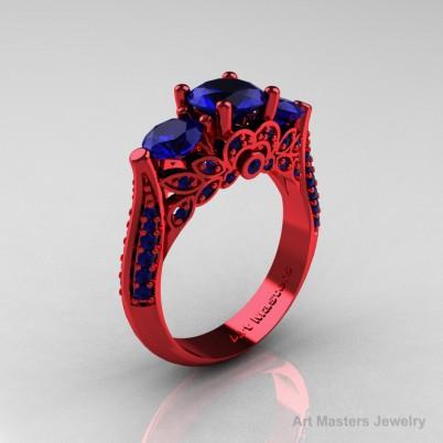 Renaissance-Classic-Black-Gold-1-23-Carat-Princess-Pink-Sapphire-Engagement-Ring-R220P-BGPS-P-402×402—-